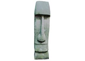 Statue Tiki en Pierre Naturelle