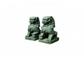 Deux Lions de Temple