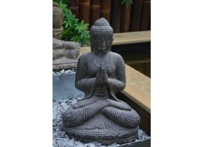 Bouddha Assis Salutation - jardin