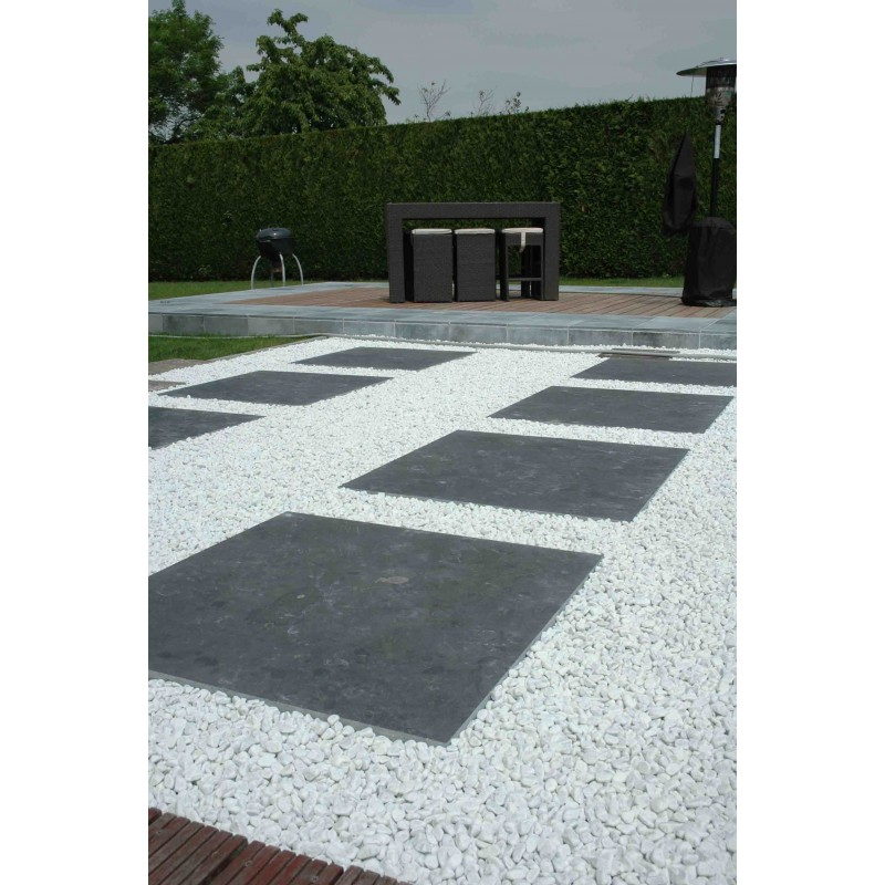 Dalle bluestone dark sci e for Carrelage 1mx1m
