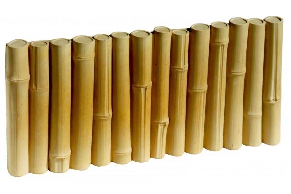 Bordure B Ton Imitation Bambou Bordure Jardin Penez Herman
