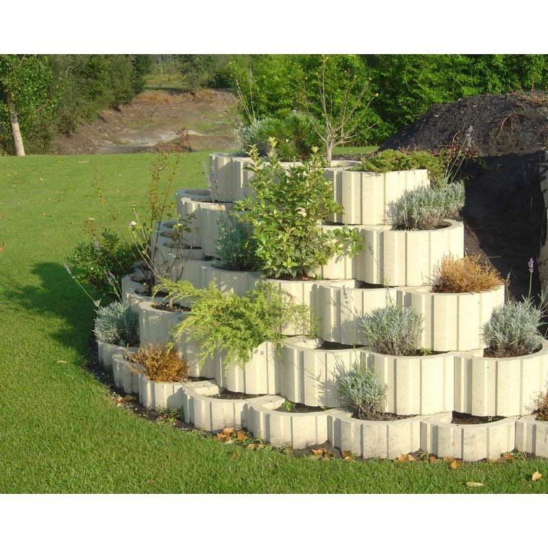 Bordure v g talisable bordure jardin penez herman for Fabriquer une bordure de jardin