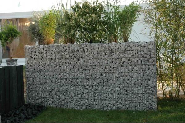 gabion jardini re rectangulaire. Black Bedroom Furniture Sets. Home Design Ideas