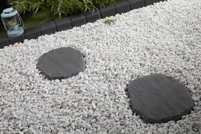 pas japonais lisse gris d co ext rieure penez herman. Black Bedroom Furniture Sets. Home Design Ideas