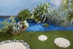 Paillage Organique Coloré Blanc - Jardin