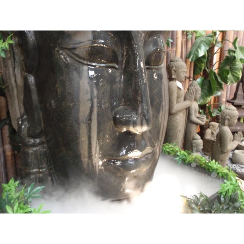 Fontaine bouddha for Tete bouddha pour jardin
