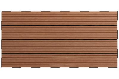 Dalle Clipsable Composite Brun 30x60