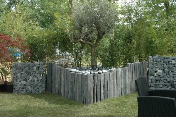 piquet schiste ardoisier 1m d limitation penez herman. Black Bedroom Furniture Sets. Home Design Ideas