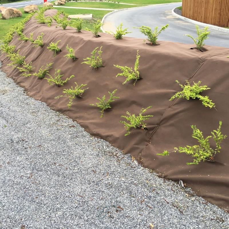 nappe de paillage plantex® gold, Gartenarbeit ideen