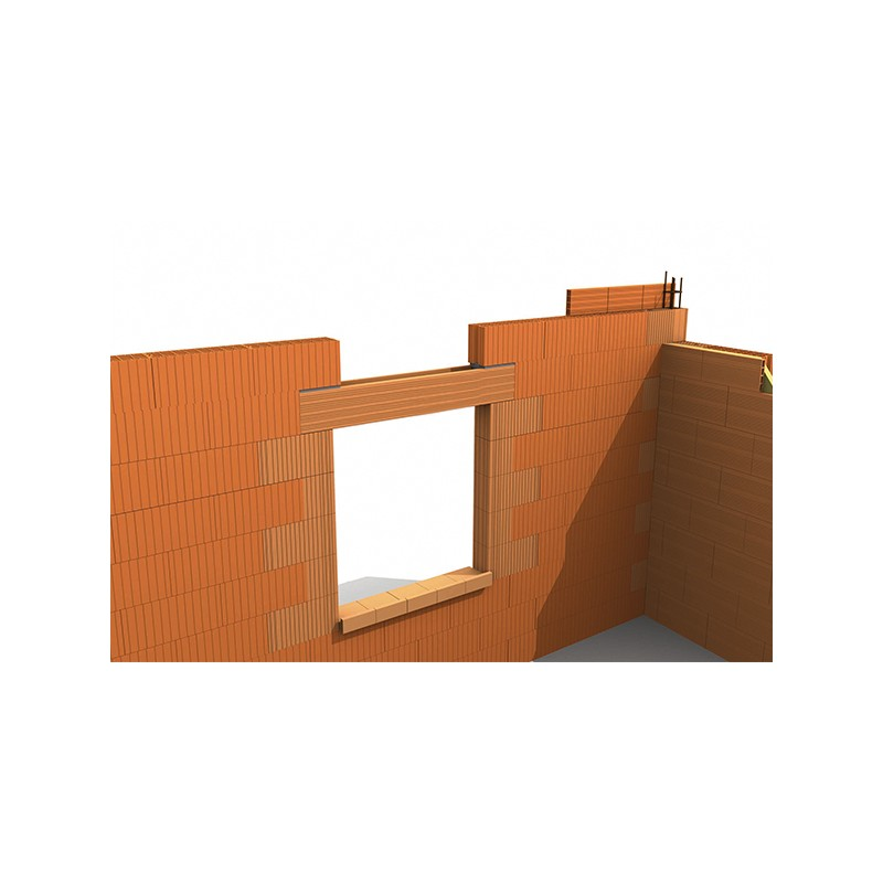 linteau terre cuite b timent penez herman. Black Bedroom Furniture Sets. Home Design Ideas