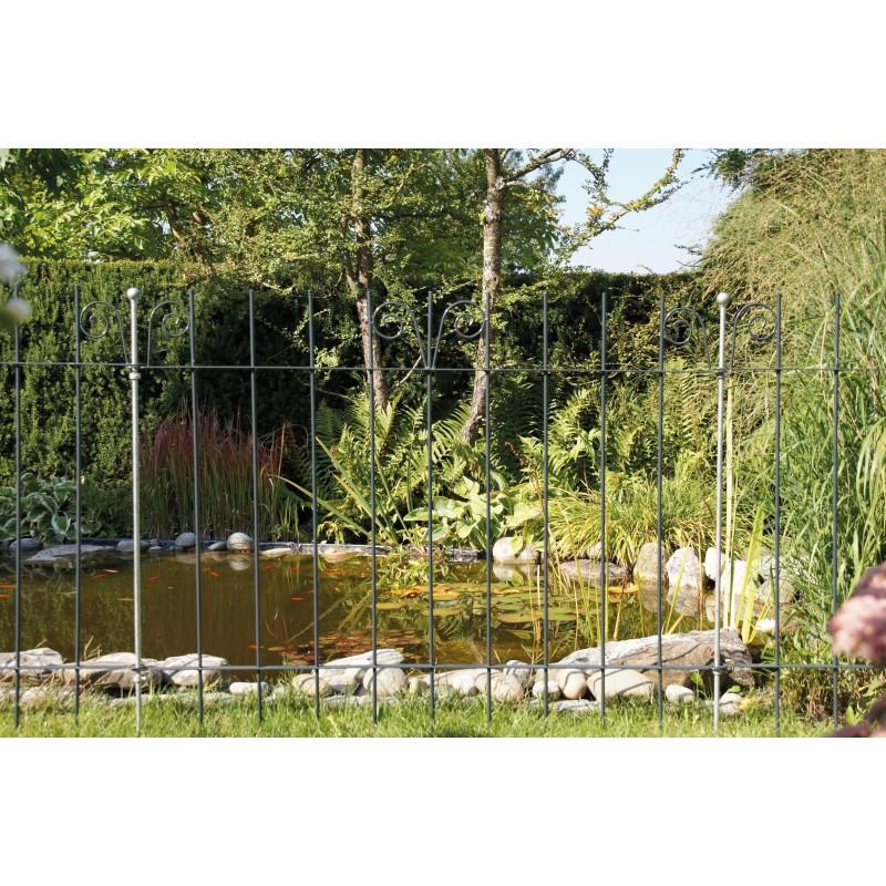 Poteau zingu 2 points pour fixation porte cl ture bassin for Cloture bassin poisson