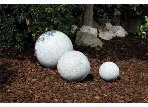 Sphère Granit Gris - jardin