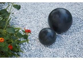 Sphère Granit Noir - Jardin