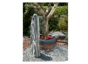 Monolithe Bivouac Zèbre - jardin
